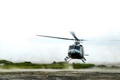 Śmigłowcowy lądowanie Obraz Stock