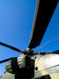 śmigłowcowy rotor zdjęcie royalty free