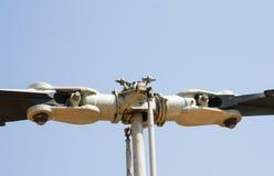 Śmigłowcowy rotor i ostrza Obrazy Royalty Free