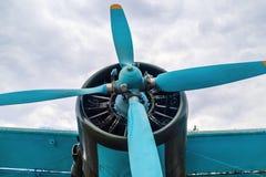 Śmigłowy samolot Obrazy Stock