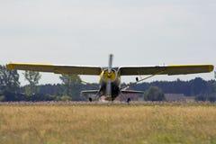 Śmigłowy samolot fotografia stock