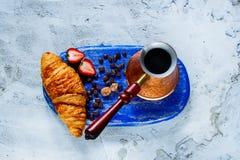Śniadania ustalony tło Fotografia Royalty Free