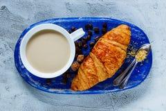 Śniadania ustalony tło Fotografia Stock