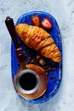 Śniadania ustalony tło Zdjęcie Stock