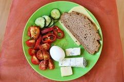 Śniadanie bez mięsa Zdjęcie Stock