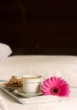 śniadanie do łóżka Zdjęcia Royalty Free