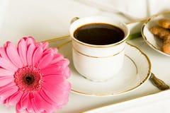 śniadanie do łóżka Obrazy Royalty Free