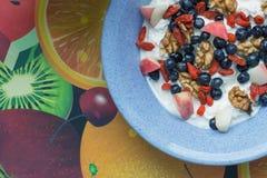 śniadanie folujący Obrazy Stock