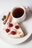Śniadanie kish chałupa ser Obrazy Stock