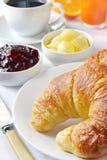 śniadanie kontynentalnej Obraz Royalty Free