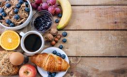 śniadanie kontynentalnej zdjęcia royalty free