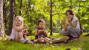 Śniadanie na trawie zdjęcie wideo