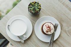 śniadanie na wierzchołka stole Zdjęcie Stock