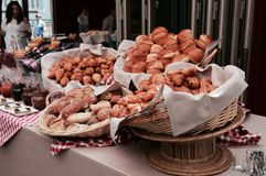 Śniadanio-lunch, Paryż Obraz Royalty Free