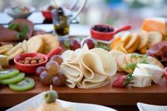 Śniadanio-lunch promocja przy restauracją Obrazy Royalty Free