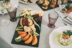 Śniadanio-lunch Wyborowy tłum Łomota Karmowe opcje Je pojęcie zdjęcie stock