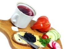 śniadaniowa herbata zdjęcie stock