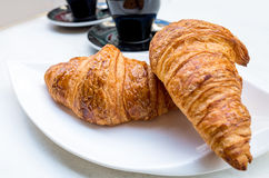 śniadaniowa kawa Zdjęcia Royalty Free