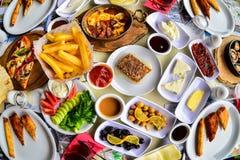 Śniadaniowa kultura & dodatku specjalnego śniadanie zdjęcia royalty free