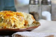Śniadaniowa potrawka z kawą Zdjęcie Royalty Free