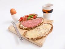 Śniadaniowe kanapki obraz stock