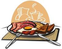 śniadaniowi anglicy ilustracji