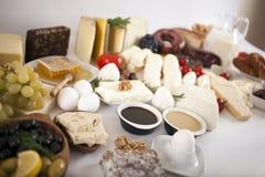 Śniadaniowi jedzenia Fotografia Stock