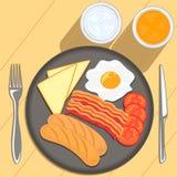 Śniadaniowy czas Zdjęcia Royalty Free