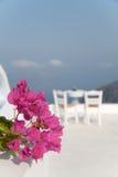śniadaniowy halny położenia stołu widok Zdjęcie Royalty Free