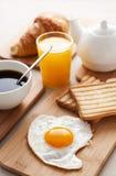 śniadaniowy jajko zdjęcia stock