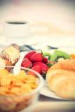 śniadaniowy kontynentalny Obraz Royalty Free