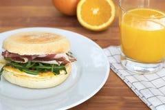 Śniadaniowy słodka bułeczka Zdjęcie Stock