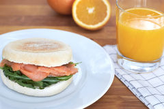 Śniadaniowy słodka bułeczka Fotografia Stock