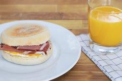 Śniadaniowy słodka bułeczka Obrazy Stock