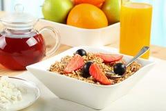 Śniadaniowy stół Fotografia Stock