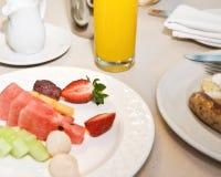 śniadaniowy stół Obraz Royalty Free