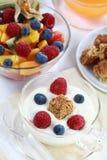 śniadaniowy zdrowy Zdjęcia Royalty Free