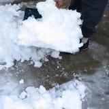 Śnieżna łopata Obrazy Stock