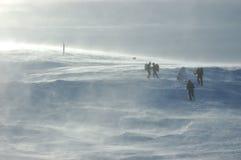 śnieżna burza Obrazy Stock