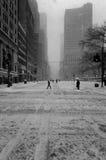Śnieżna burza Obrazy Royalty Free