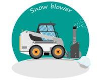 Śnieżna dmuchawa Obraz Royalty Free