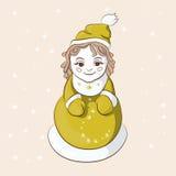Śnieżna dziewczyna Obrazy Stock