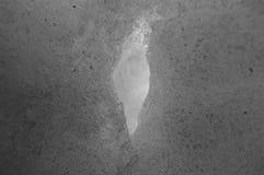 Śnieżna dziura Zdjęcie Royalty Free