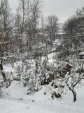 Śnieżna fary bajka obrazy stock