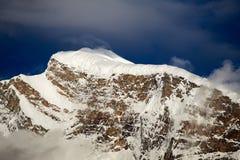 Śnieżna góra Zdjęcia Royalty Free
