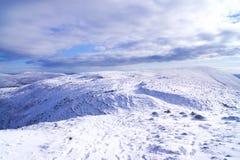 Śnieżna góra Zdjęcie Stock
