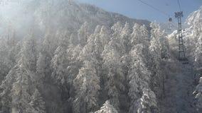 Śnieżna góra, porcelana Obrazy Royalty Free