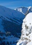 śnieżna góry dolina Obraz Royalty Free
