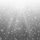 śnieżna gwiazda Fotografia Stock