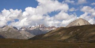 Śnieżna halna sceneria na plateau 06 Obrazy Stock